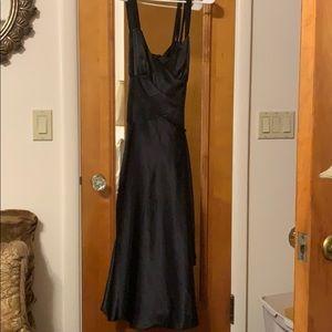 Jones wear dress. Black